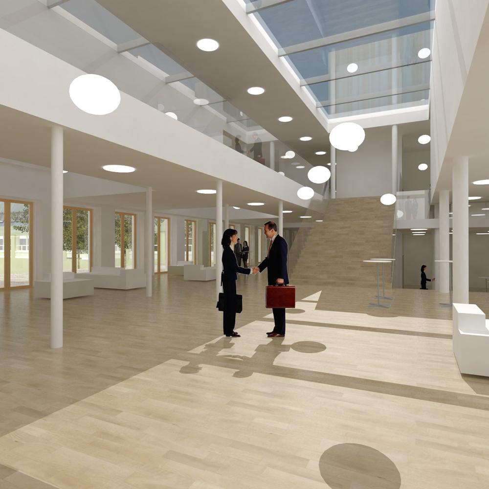 Foyerområde skitseforslag