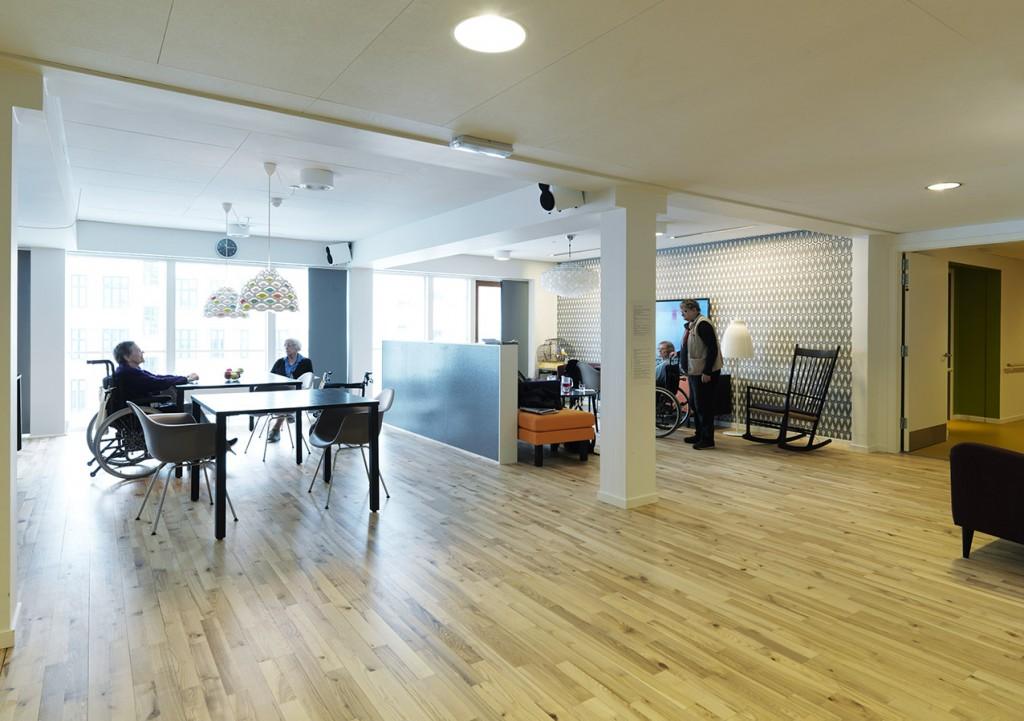 Fællesarealer på etagerne_foto Anders Hviid