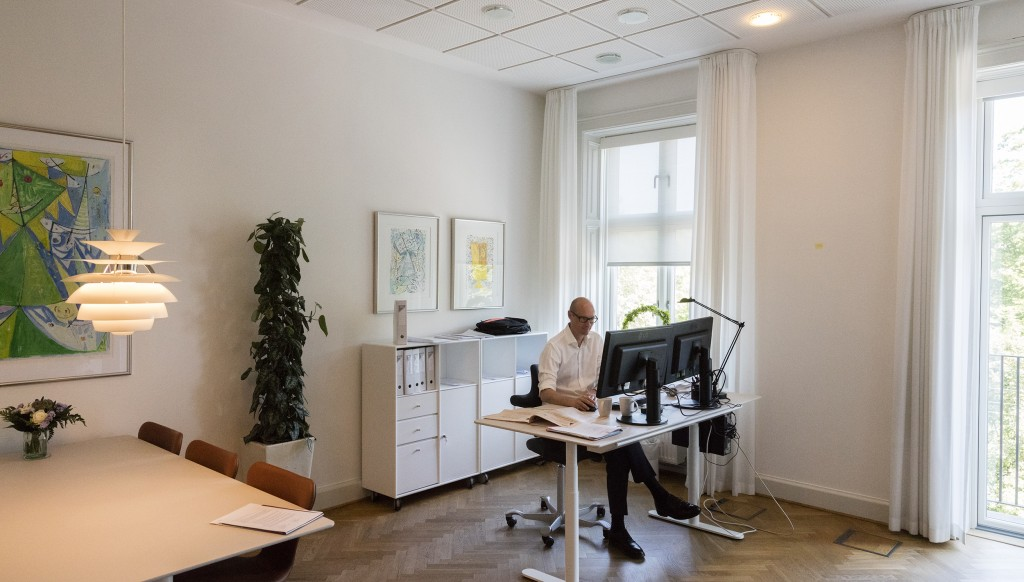 nyindretning af kontorer_foto Torben Eskerod