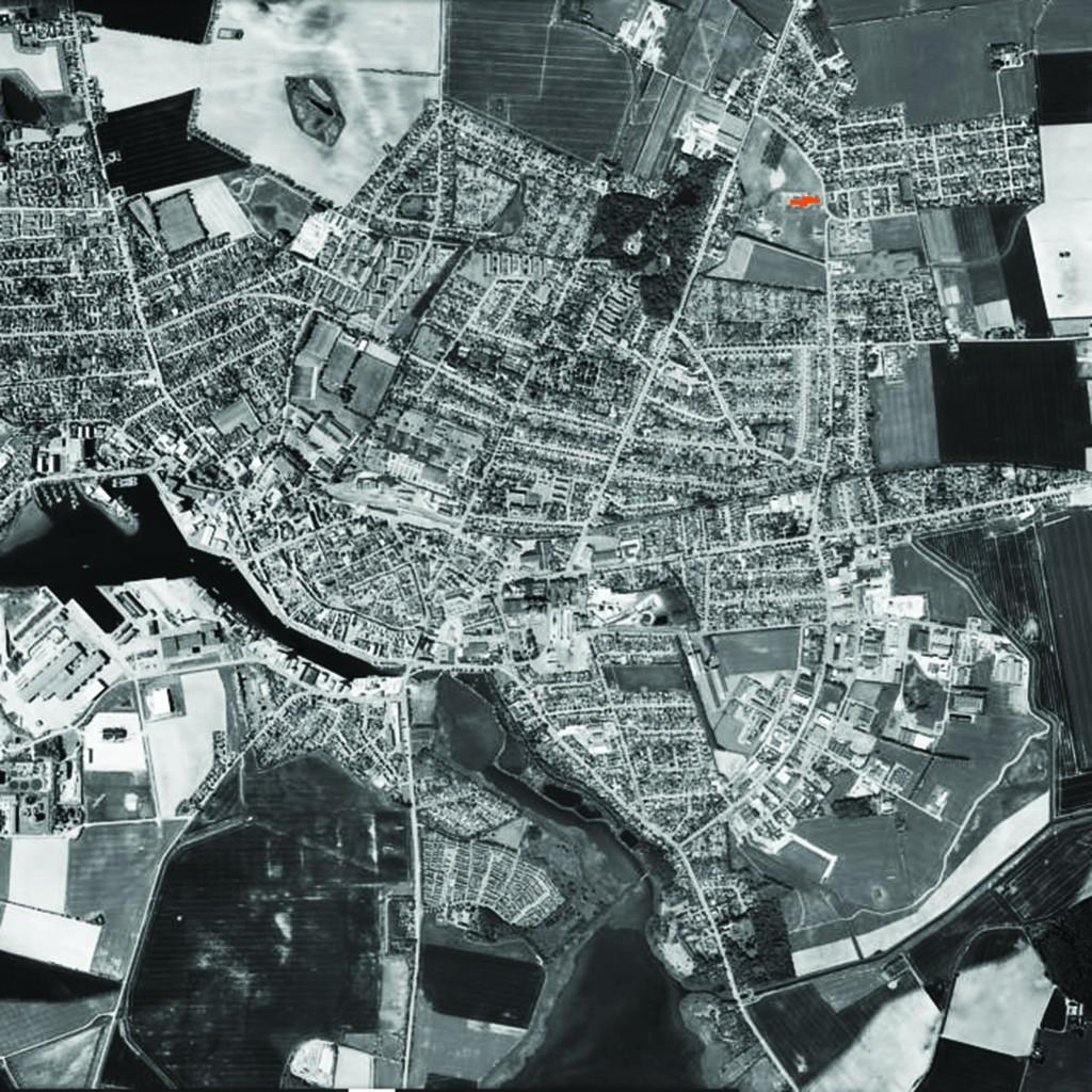 Luftfoto Nakskov