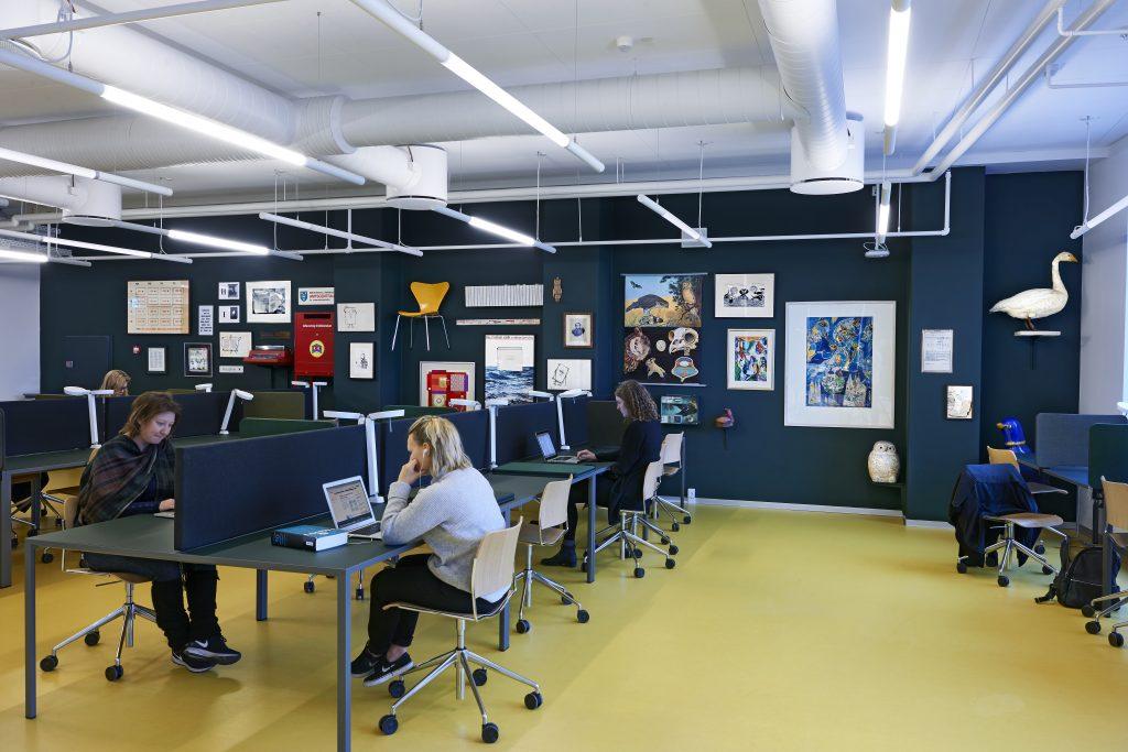 Lærerforberedelse_Kunstprojekt af Lasse Krogh i samar. med Statens Kunstfond_foto Torben Petersen