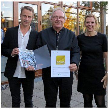 JJW VÆRKSTEDET FÅR DGNB-GULD