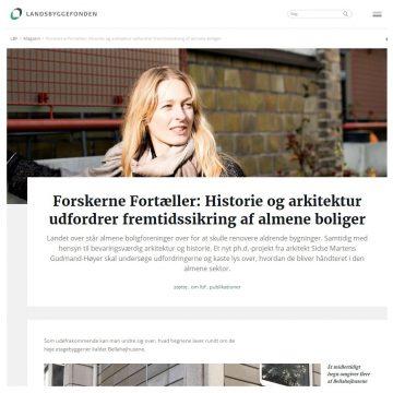 FREMTIDSSIKRING AF ALMENE BOLIGER