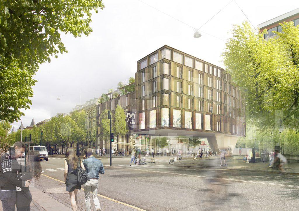 Frame set fra Frederiksberg Allé