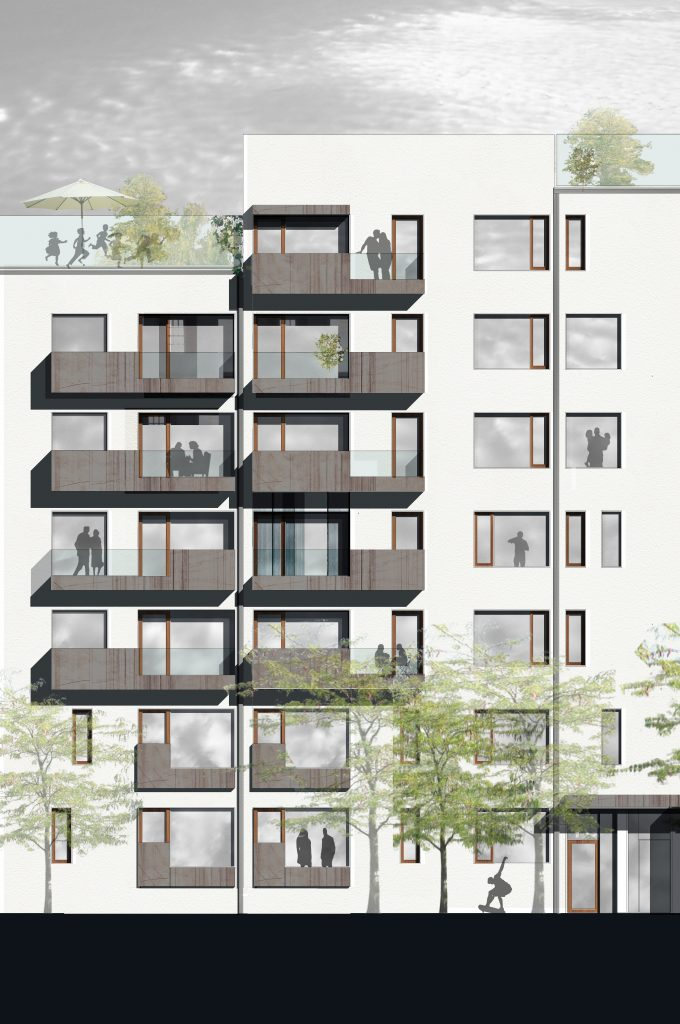 Bagbord facadeprincip