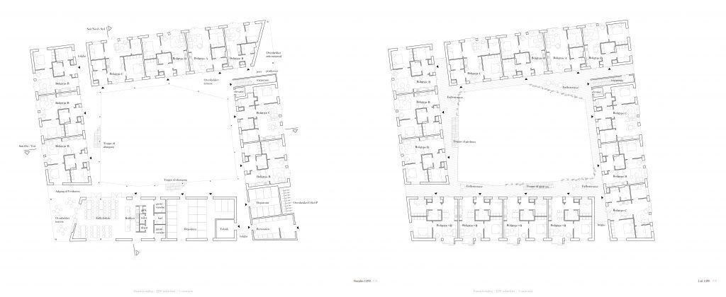 Stueplan og 1.sal