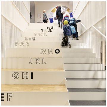 Europaskolen på Carlsberg – indretning