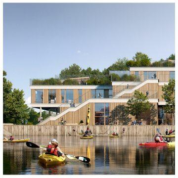 JJW vinder konkurrence om ny grøn byskole på Sluseholmen