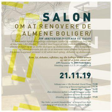 SALON OM RENOVERING AF ALMENE BOLIGER 21.11.19