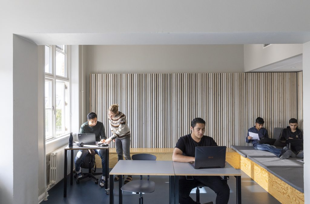 Eks. bygning klasserum/ udskoling