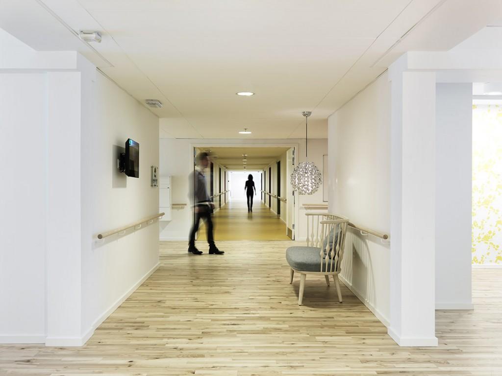 Fælle/ gangsarealer på etagerne_foto Anders Hviid