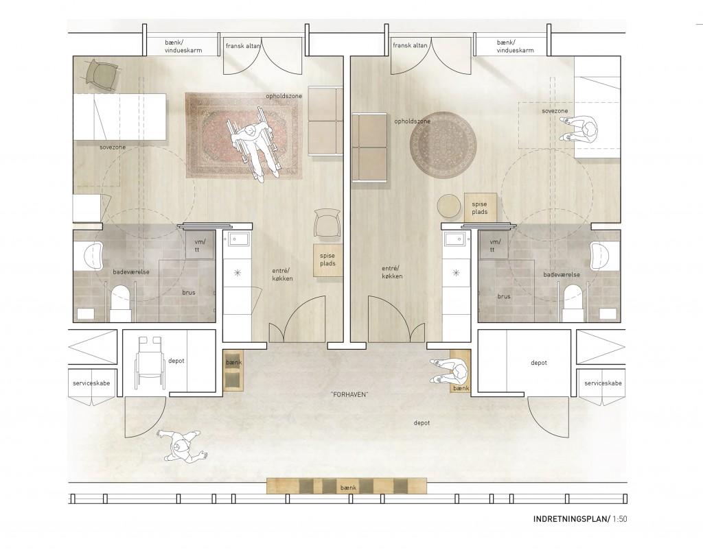 Eksempel på boligplaner_fra konkurrencen