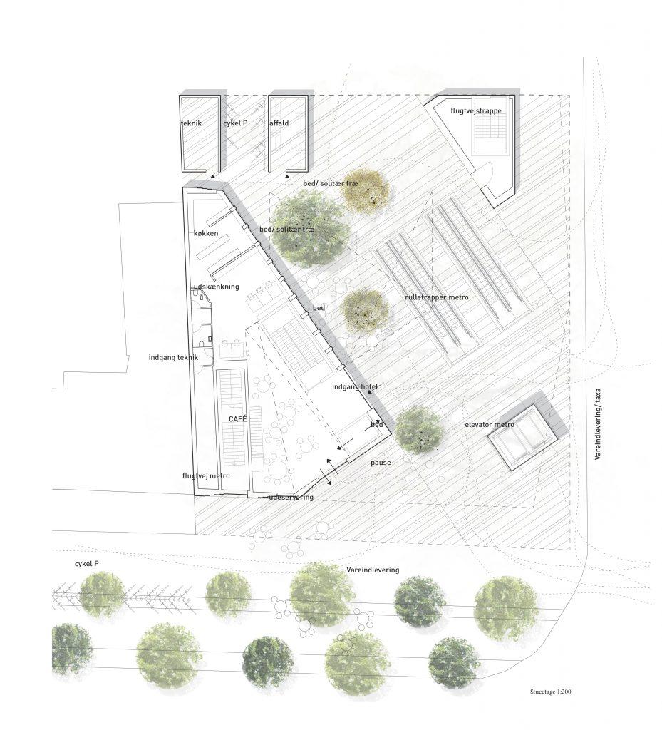 Stueplan, metro og byrum