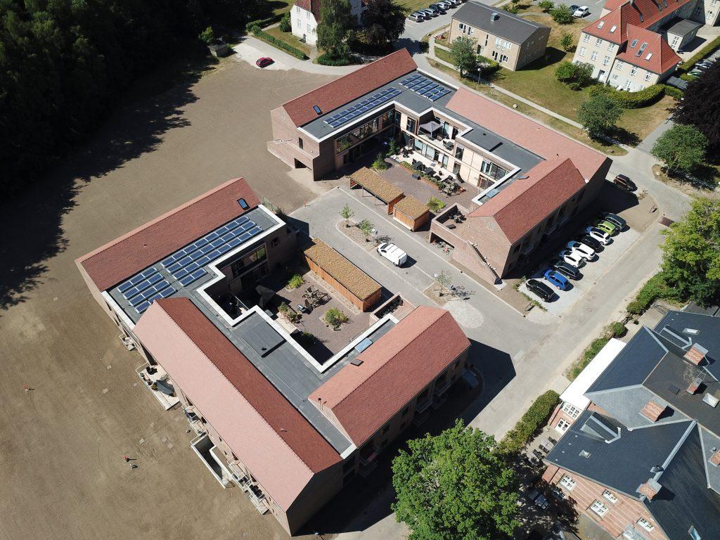 Luftfoto fra nord øst