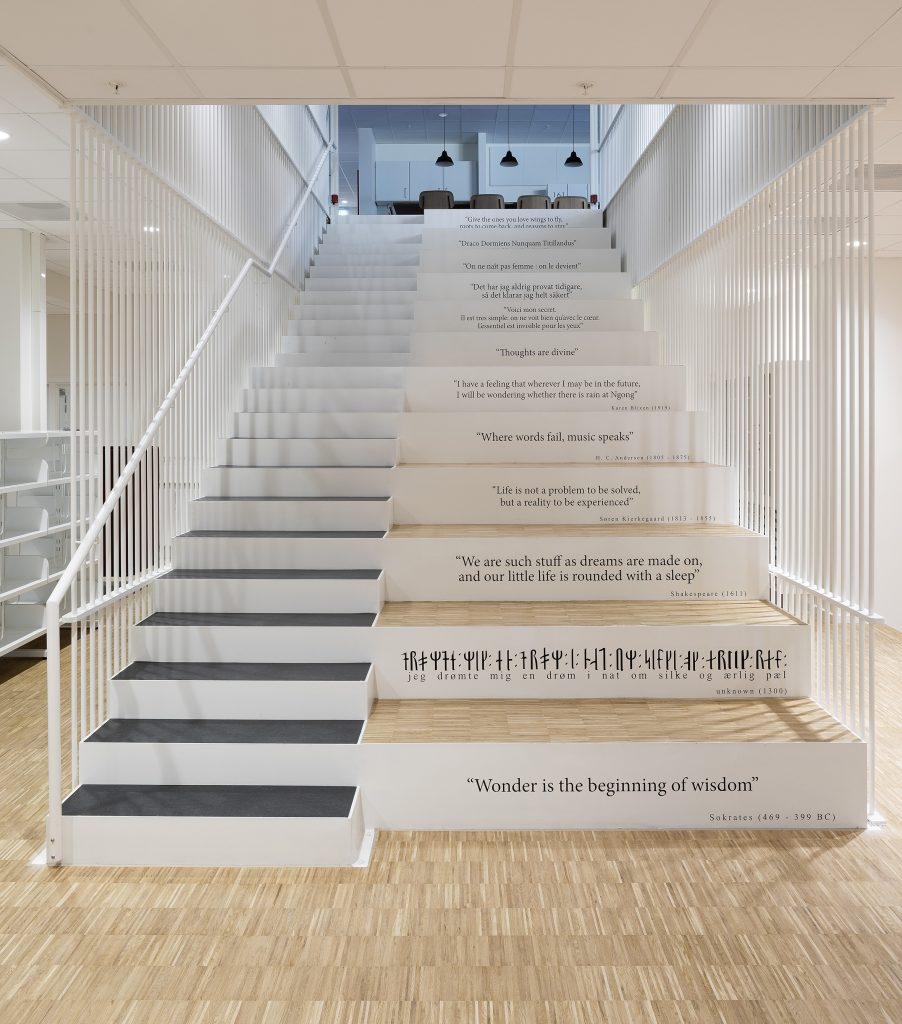 Learning Staircase_Literature_Secondary_foto Torben Eskerod