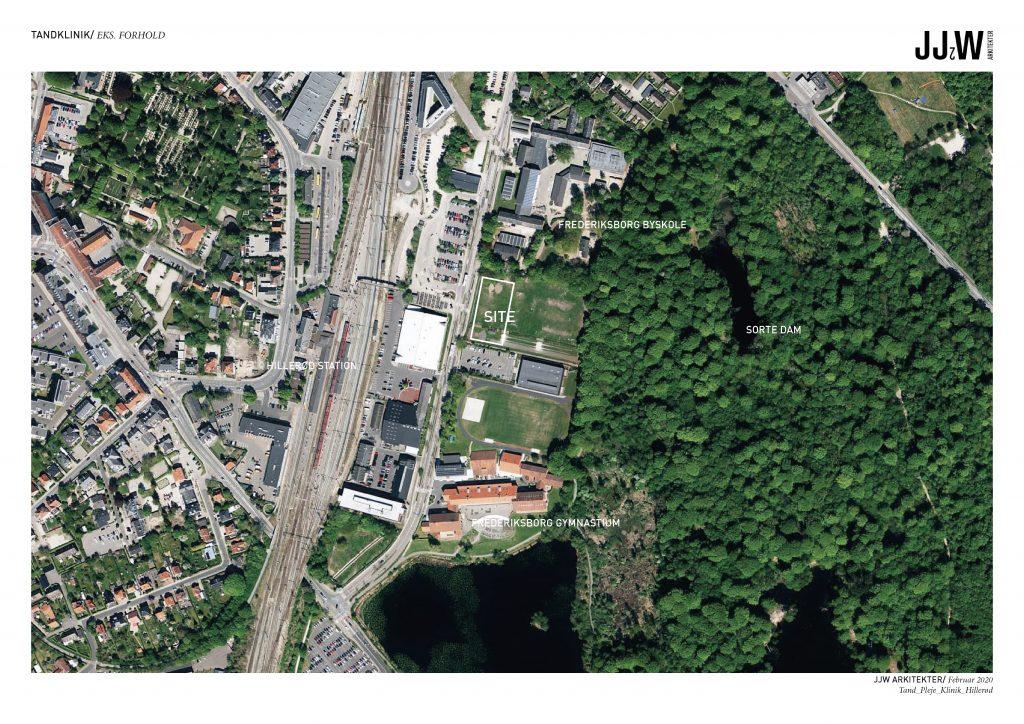 Site/ central placering i Hillerød