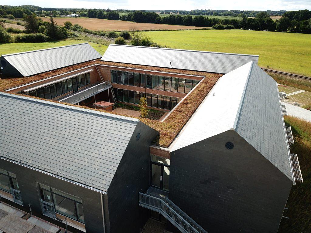 Plejecenteret og det åbne landskab